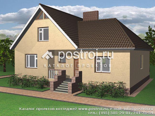 Дома из пеноблоков - строительство под ключ, проекты домов из пенобетона - СК Престиж.
